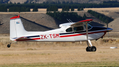 ZK-TSM - Cessna 180A Skywagon - Private