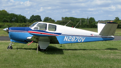 N2870V - Beechcraft 35 Bonanza - Private