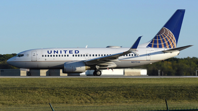 A picture of N27734 - Boeing 737724 - United Airlines - © DJ Reed - OPShots Photo Team