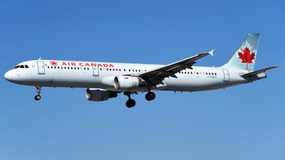 C-FGKZ - Airbus A321-212 - Air Canada