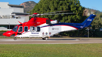 VH-EGK - Agusta-Westland AW-139 - Australia - Queensland Government