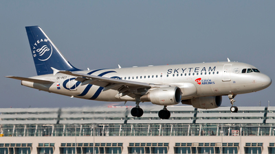 OK-PET - Airbus A319-112 - CSA Czech Airlines