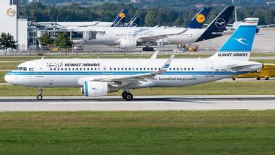 9K-AKE - Airbus A320-214 - Kuwait Airways