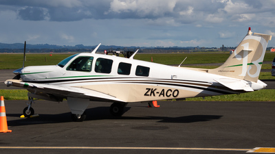 ZK-ACO - Beech A36 Bonanza - Private