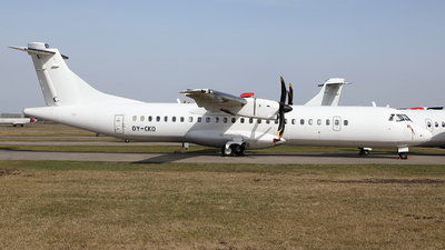 OY-CKO - ATR 72-212A(500) - Nordic Aviation Capital (NAC)