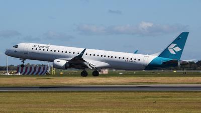 A picture of IADJK - Embraer E195LR - Air Dolomiti - © John Fitzpatrick