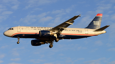 N114UW - Airbus A320-214 - US Airways