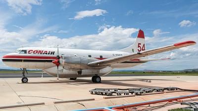 A picture of CFKFM - Convair CV580 - Conair - © CYYCspotter