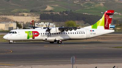 A picture of CSDJE - ATR 72600 - TAP Express - © Alejandro Gutierrez Martin