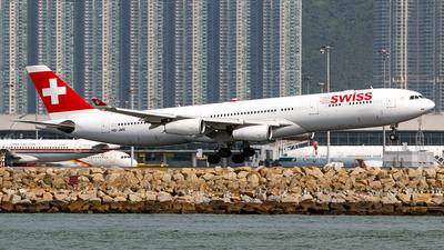 HB-JME - Airbus A340-313X - Swiss