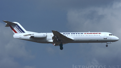 F-GPXE - Fokker 100 - Air Inter Europe