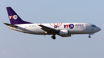 B-2575 - Boeing 737-37K(SF) - YTO Cargo Airlines