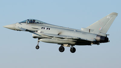 ZK372 - Eurofighter Typhoon FGR.4 - United Kingdom - Royal Air Force (RAF)