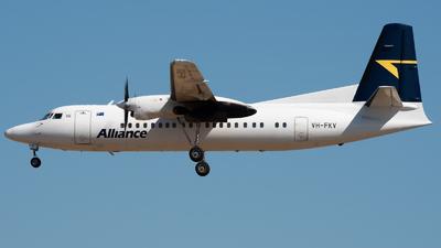 VH-FKV - Fokker 50 - Alliance Airlines