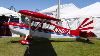 N987A - American Champion 8KCAB Super Decathlon - Private