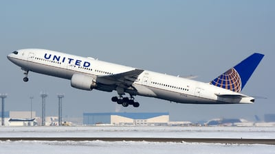 A picture of N772UA - Boeing 777222 - United Airlines - ©  JC