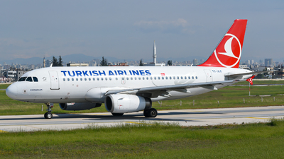 A picture of TCJLZ - Airbus A319132 - Turkish Airlines - © Savas binici