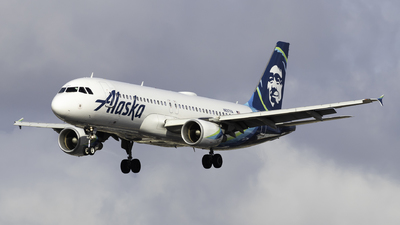 A picture of N837VA - Airbus A320214 - Alaska Airlines - © Brandon Ravelo