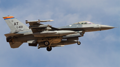 91-0401 - General Dynamics F-16C Fighting Falcon - United States - US Air Force (USAF)