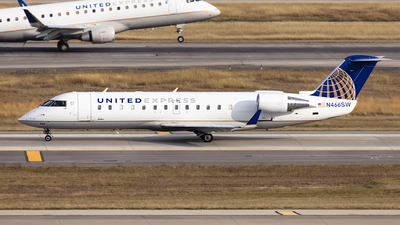 A picture of N466SW - Mitsubishi CRJ200ER - United Airlines - © GFB