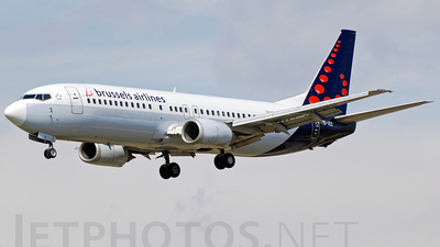 OO-VES - Boeing 737-43Q - Brussels Airlines