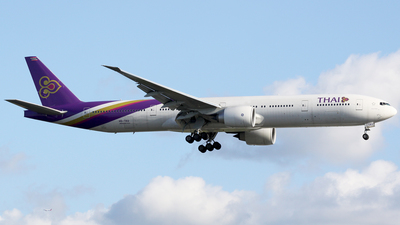 HS-TKU - Boeing 777-3D7(ER) - Thai Airways International