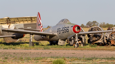 45-59556 - Republic F-84B Thunderstreak - Planes of Fame Air Museum