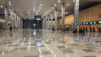 HEGN - Airport - Terminal