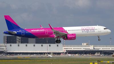 HA-LVJ - Airbus A321-271NX - Wizz Air