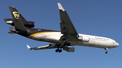 A picture of N283UP - McDonnell Douglas MD11F - UPS - © Brady Noble