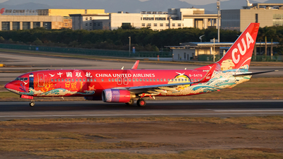 B-5470 - Boeing 737-86D - China United Airlines