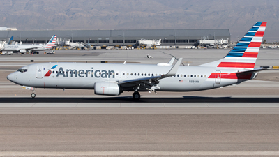 A picture of N880NN - Boeing 737823 - American Airlines - © Yixin Chen