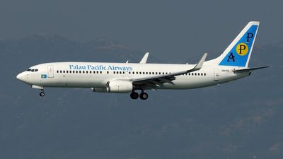 OM-FEX - Boeing 737-8Q8 - Palau Pacific Airways