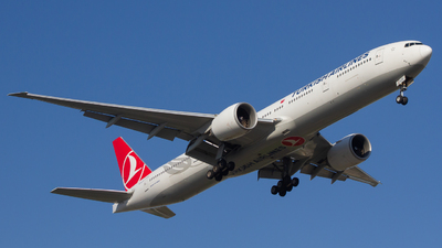 A picture of TCLJC - Boeing 7773F2(ER) - Turkish Airlines - © Adrian Stan