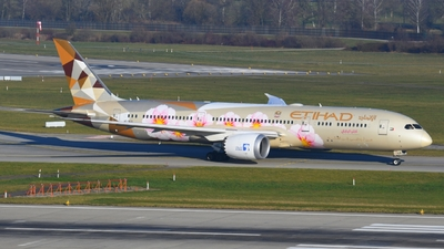 A6-BLS - Boeing 787-9 Dreamliner - Etihad Airways