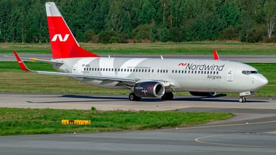 A picture of VPBSC - Boeing 7378KN - Nordwind Airlines - © Yan Syrbo