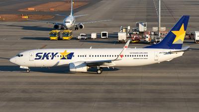 A picture of JA73NN - Boeing 73781D - Skymark Airlines - © Joe Masui