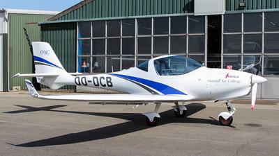 OO-DCB - Aquila A211GX - Ostend Air College