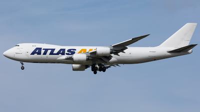N859GT - Boeing 747-87UF - Atlas Air