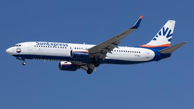 TC-SNJ - Boeing 737-86J - SunExpress