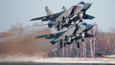 35 - Mikoyan-Gurevich MiG-31BM Foxhound - Russia - Air Force