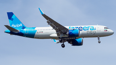 9K-CBB - Airbus A320-251N - Jazeera Airways
