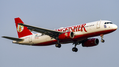 VT-KFA - Airbus A320-232 - Kingfisher Airlines