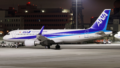 JA03VA - Airbus A320-216 - All Nippon Airways (ANA)