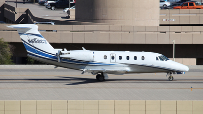 N650CZ - Cessna 650 Citation VII - Private