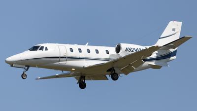 N824DM - Cessna 560XL Citation XLS - Private