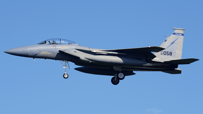 80-0058 - McDonnell Douglas F-15D Eagle - United States - US Air Force (USAF)
