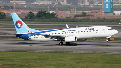 A picture of B1560 - Boeing 7378LW - Hebei Airlines - © YIJING HOU
