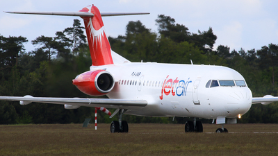 PJ-JAB - Fokker 70 - Jetair Caribbean