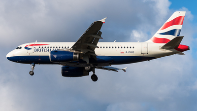 G-EUOE - Airbus A319-131 - British Airways